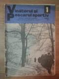 REVISTA ''VANATORUL SI PESCARUL SPORTIV'', NR. 1 IANUARIE 1977