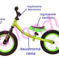 Bicicleta fara pedale TupTup, verde