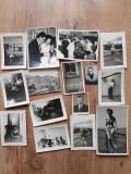 Lot 34 fotografii poze diverse proveniență Belgia anii 50 vechi vintage