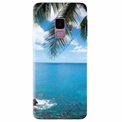 Husa silicon pentru Samsung S9, Coastline foto