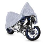Prelata moto premium, marime M, 203x89x119cm, impermeabila gri
