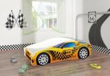 Set Pat Tineret 160x80 Speed Race Car Taxi + Saltea