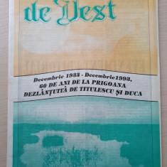 gazeta de vest decembrie 1993-revista legionara-prigoana lui titulescu si duca