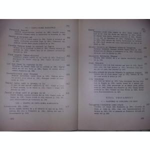 MICA BIBLIE Veche 1972,Laborios cuprins si documentare(INCOMPLETA),T.GRATUIT