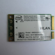 Intel Wireless WiFi Link 4965AGN PCI Express Mini Card
