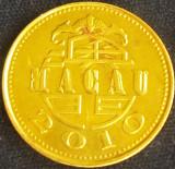 Moneda exotica 10 AVOS - MACAO / MACAU, anul 2010 *cod 2939, Asia
