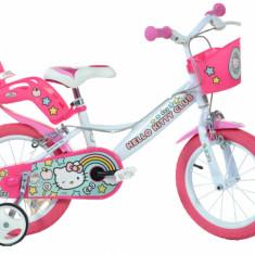 Bicicleta copii 14'' Hello Kitty PlayLearn Toys
