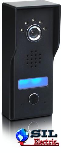 Camera video exterioara pentru Videointerfon cu montaj pe tencuiala si conexiune la 4 fire, Well