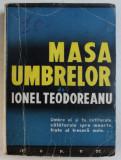 MASA UMBRELOR - roman de IONEL TEODOREANU , 1935