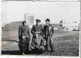 Fotografie ofiteri romani vanatori munte sanatoriu Moroieni poza veche