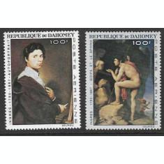 Benin (Dahomey) 1967 - Picturi, Ingres, serie neuzata