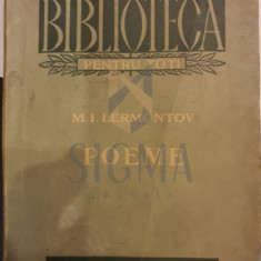 Poeme - M.I. Lermontov