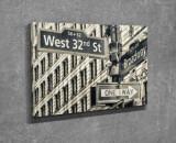 Tablou decorativ pe panza Majestic, 257MJS3230, Gri