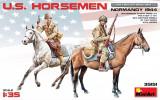 1:35 U.S. Horsemen. Normandy 1944 - 2 figures 1:35