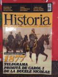 Revista Historia 1877 telegrama primita de Carol I de la Nicolae, decembrie 2015