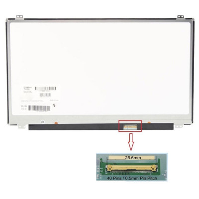 Display Laptop Asus X555B X555BA X555BP X555L X555LA X555LB X555LB X555LF X555LI X555LP 15.6 1366x768 40 Pini Slim Led foto