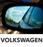 Stickere oglinda ETCHED GLASS - VOLKSWAGEN (set 3 buc.), 4World