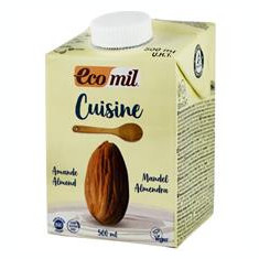 Crema Vegetala din Migdale pentru Gatit Bio 500ml Ecomil Cod: EM192727