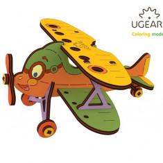 Puzzle din lemn Biplan
