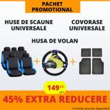 Pachet Promotional Huse Scaune & Husa Volan & Covorase PP1