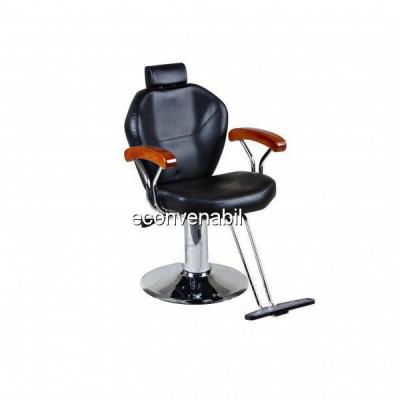 Scaun Profesional Frizerie Coafor Reglabil Dotari Salon Baikal 8283 foto