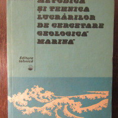 METODICA SI TEHNICA LUCRARILOR DE CERCETARE GEOLOGICA MARINA-A.E.SMOLDIREV