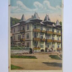 Slănic Moldova-Vila Stănescu,carte postala circulata 1934, Printata, Slanic Moldova