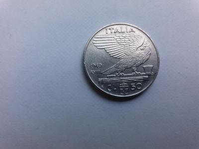 Italia 50 centesimi 1940 foto