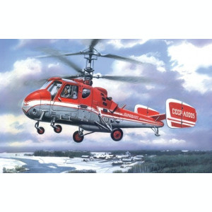 1:72 Kamov Ka-18 Russian multipurpose helicopter 1:72