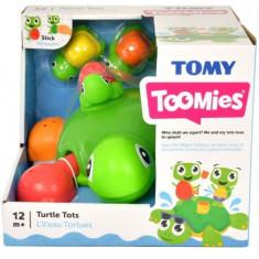 Jucarie de baie Broasca testoasa cu pui Toomies TOMY