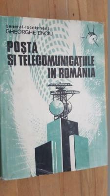 Posta si telecomunicatiile in Romania- Gheorghe Enciu foto