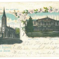 4352 - BUZIAS, Litho, Romania - old postcard - used - 1900