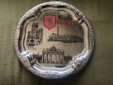 Tava souvenir Berlin,obiective serigrafiate