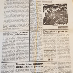 ziarul horia 10 august 1936-art. despre ion mihalache si virgil madgearu