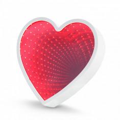 Oglindă magică LED - model inimă Best CarHome