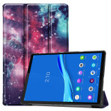 Husa Tableta TPU OEM TB-X606F pentru Lenovo M10 Plus, Galactic Nebula, Multicolor