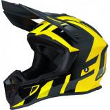 Casca motocross Ufo Quiver , culoare negru/galben , marime M Cod Produs: MX_NEW HE123M