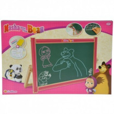 Tablita rotativa din lemn copii 3+ ani Masha and The Bear