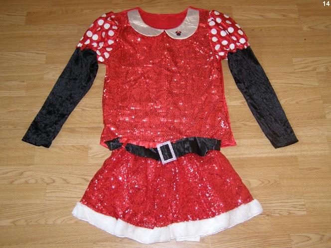 costum carnaval serbare rochie minnie pentru adulti marime M