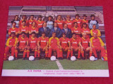 Foto fotbal echipa AS ROMA (Italia 1984)