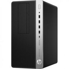 Sistem Desktop PC ProDesk 600 G3 Micro cu procesor Intel Core i5-7500 pana la 3.80 GHz, Kaby Lake, 8GB, 256GB SSD, Microsoft Windows 10 Pro, Black