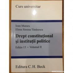 Drept constitutional si institutii politice vol. II