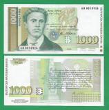 = BULGARIA - 1000 LEVA - 1994 - UNC   =