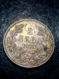 Bulgaria ... 2 leva 1913 , frumos, Europa