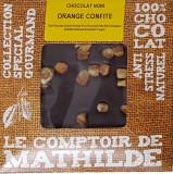 Tableta de ciocolata cu portocale confiate | Comptoir de Mathilde