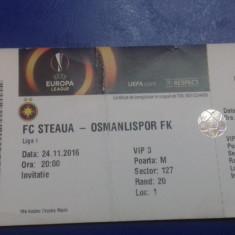 Bilet    Steaua   -   Osmanlispor  FK