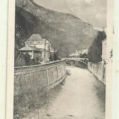cp Baile Herculane - 1924, circulata, timbre