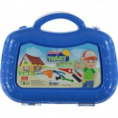 Set trusa unelte Ucar Toys UC133, 13 piese, albastru