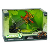 Set 3 figurine Insecte Collecta, 22 cm, 3 ani+