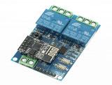 Modul cu 2 relee WiFi cu ESP8266 pentru IOT OKY3023